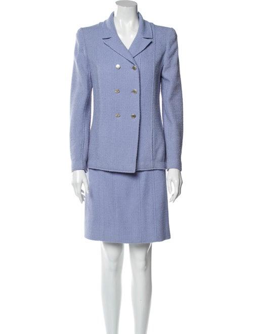 Chanel Vintage Wool Skirt Suit Wool