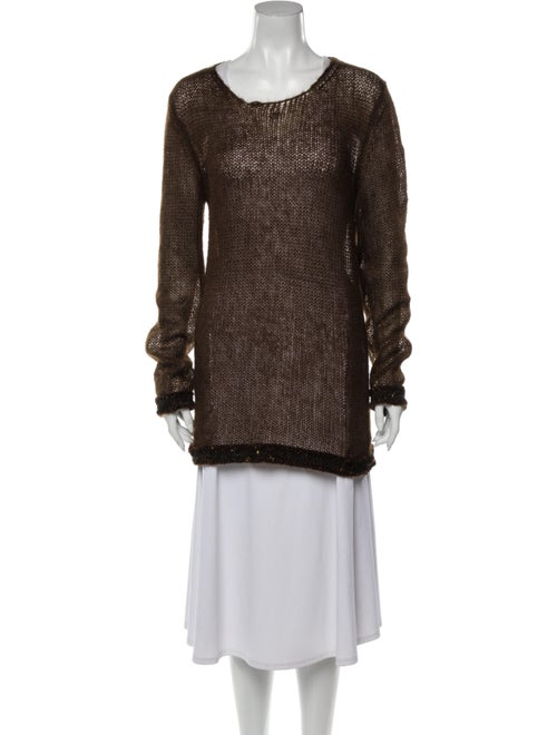 Chanel 1998 Mohair Sweater Brown