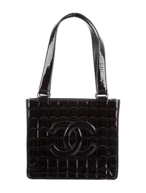 Chanel Chocolate Bar Shoulder Bag Black