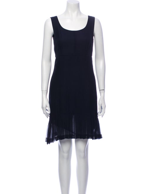 Chanel 1990's Mini Dress Blue