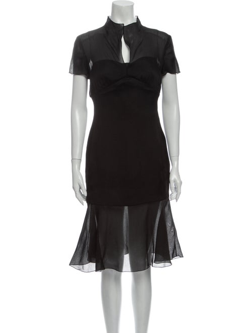 Chanel 1997 Knee-Length Dress Black