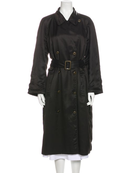 Chanel Trench Coat Brown