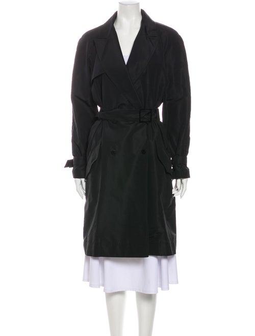 Chanel Trench Coat Black