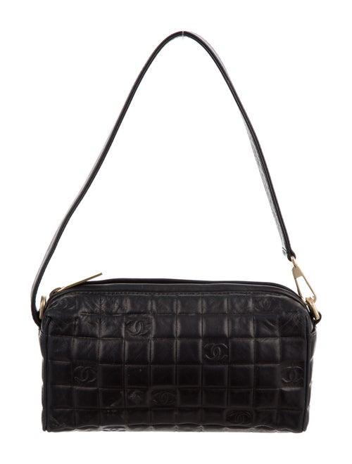 Chanel Chocolate Bar Pochette Black