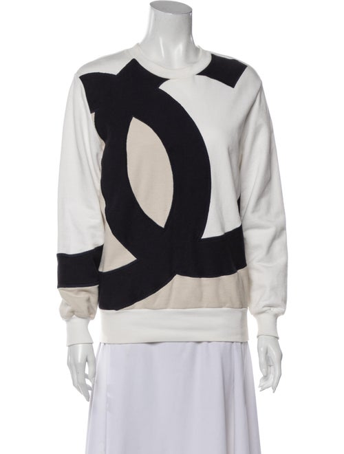 Chanel 2018 Graphic Print Sweatshirt