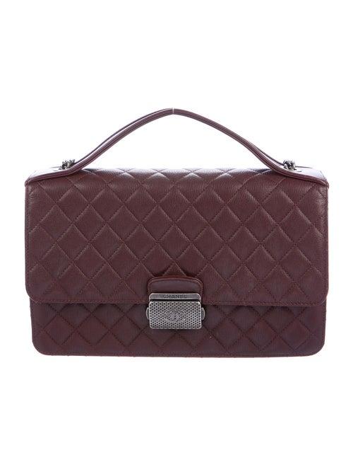 Chanel University Flap Bag silver