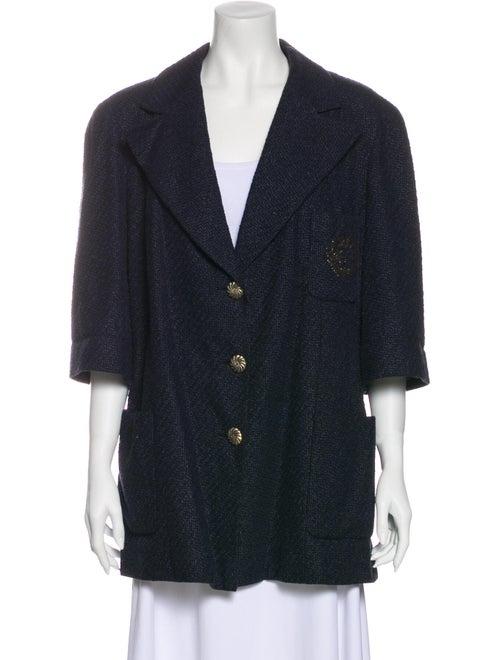 Chanel 2012 Coat Blue