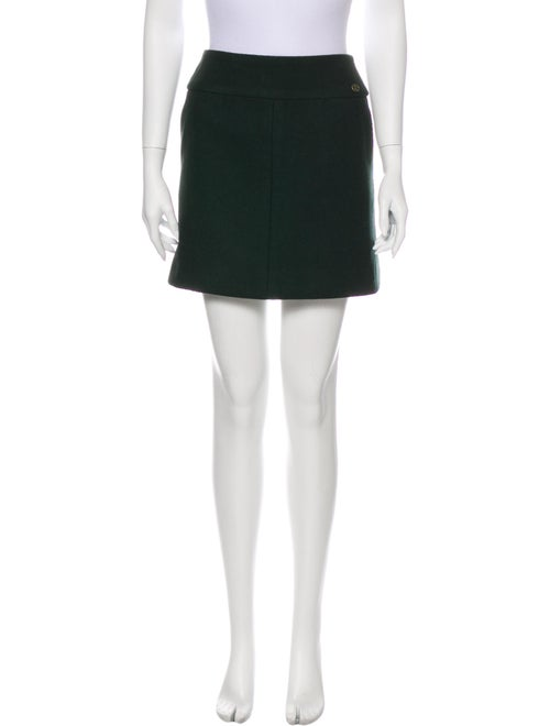 Chanel 2015 Mini Skirt Wool
