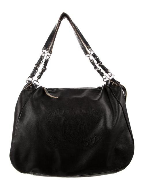 Chanel Soft Edgy Bag Black