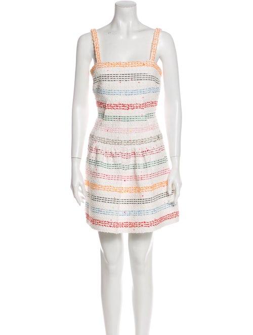 Chanel 2019 Mini Dress White