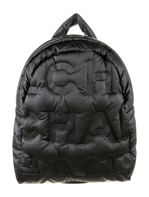 Chanel DouDoune Backpack silver