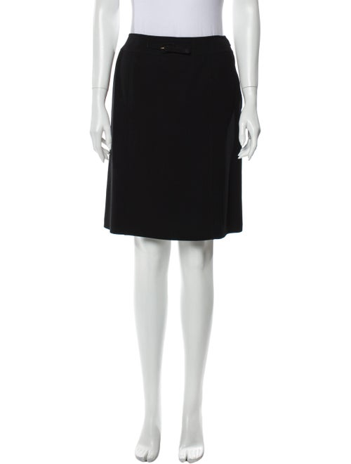 Chanel 1997 Knee-Length Skirt Wool