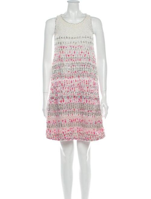 Chanel 2018 Mini Dress White