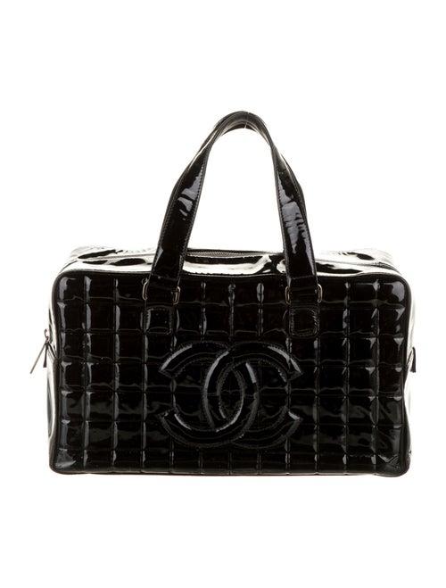 Chanel Chocolate Bar Bowler Bag Black