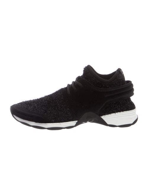 Chanel Athletic Sneakers Black