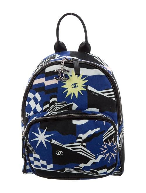Chanel 2019 La Pausa Bay Backpack black