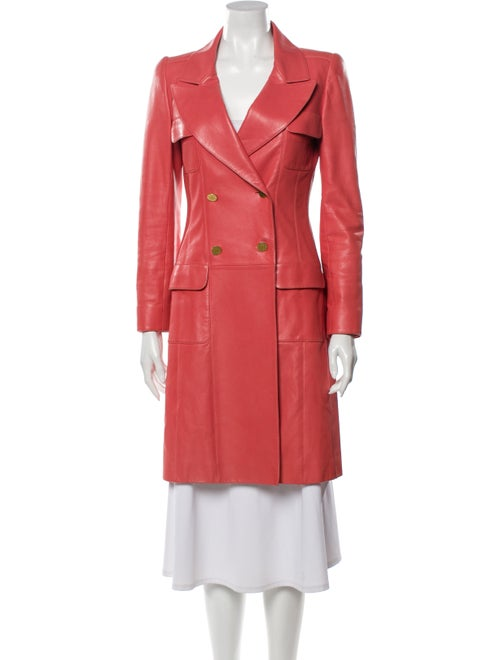 Chanel 2001 Trench Coat Pink