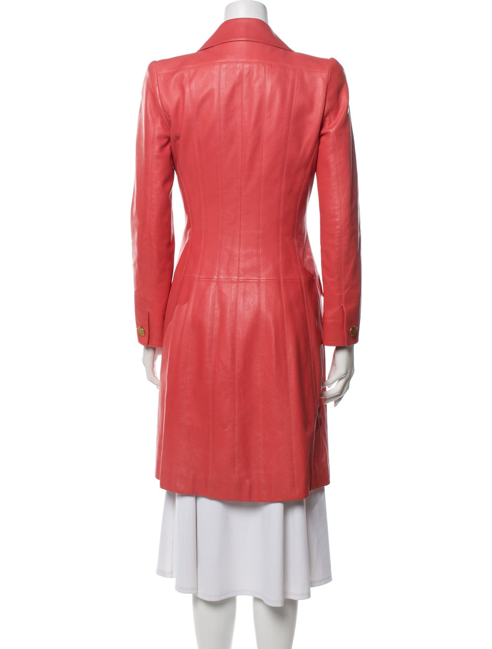 Chanel 2001 Trench Coat Pink - image 3