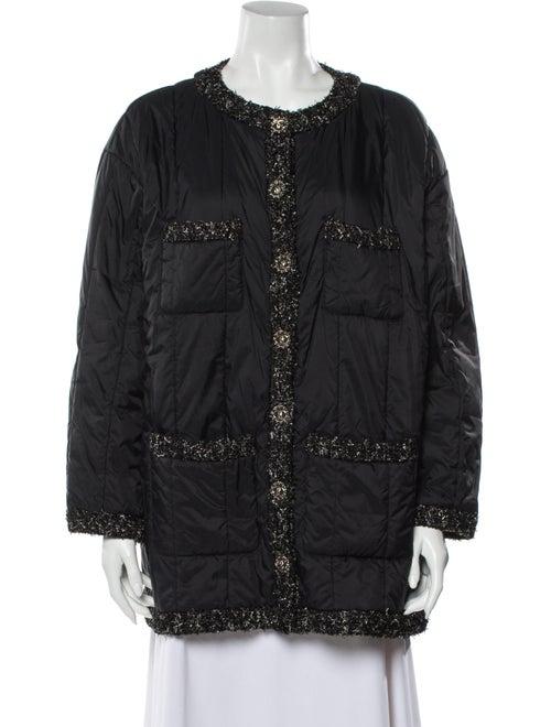 Chanel 2018 Printed Jacket Black