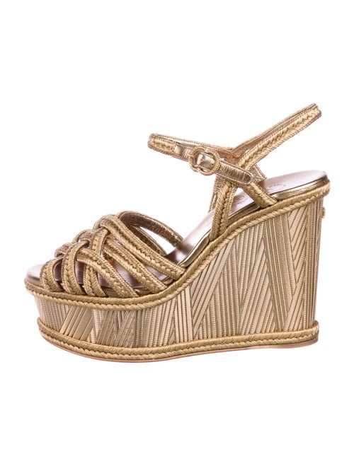 Chanel Espadrilles Gold