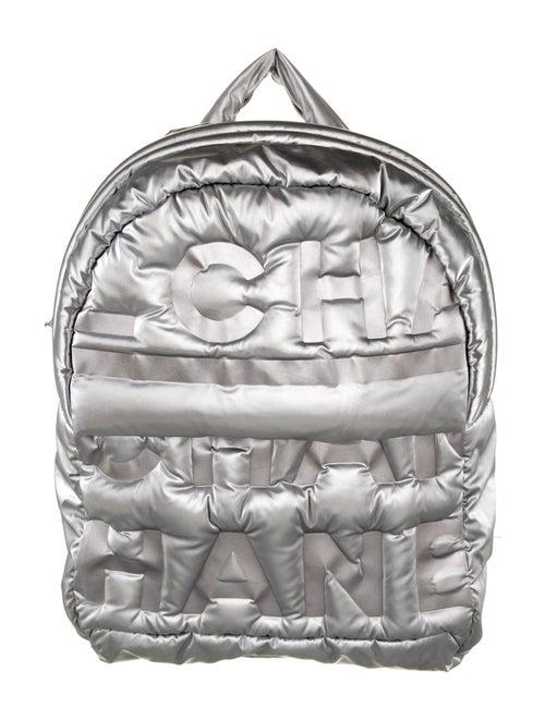 Chanel Doudoune Backpack Metallic