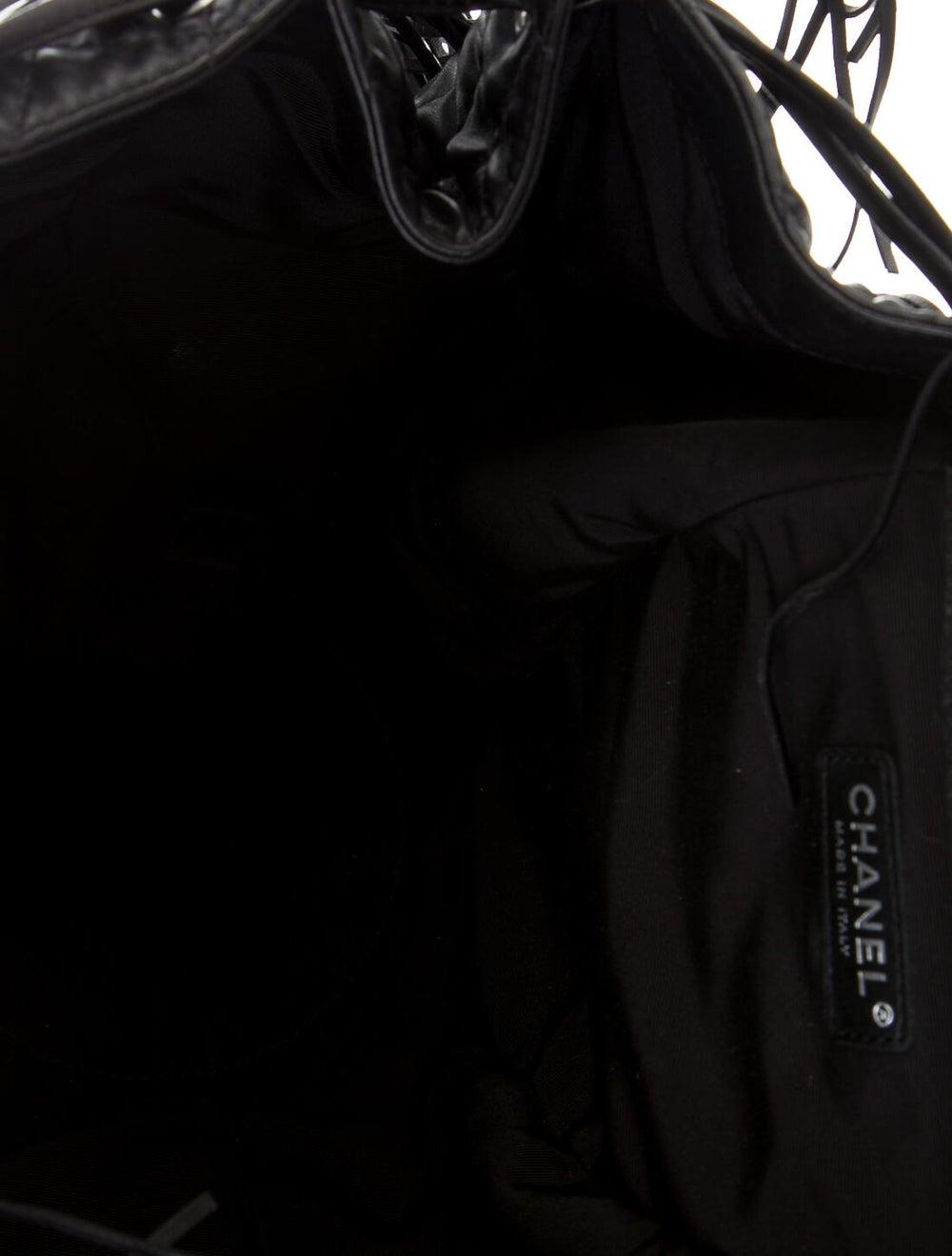 Chanel Western Baluchon Fringe Bag Black - image 5