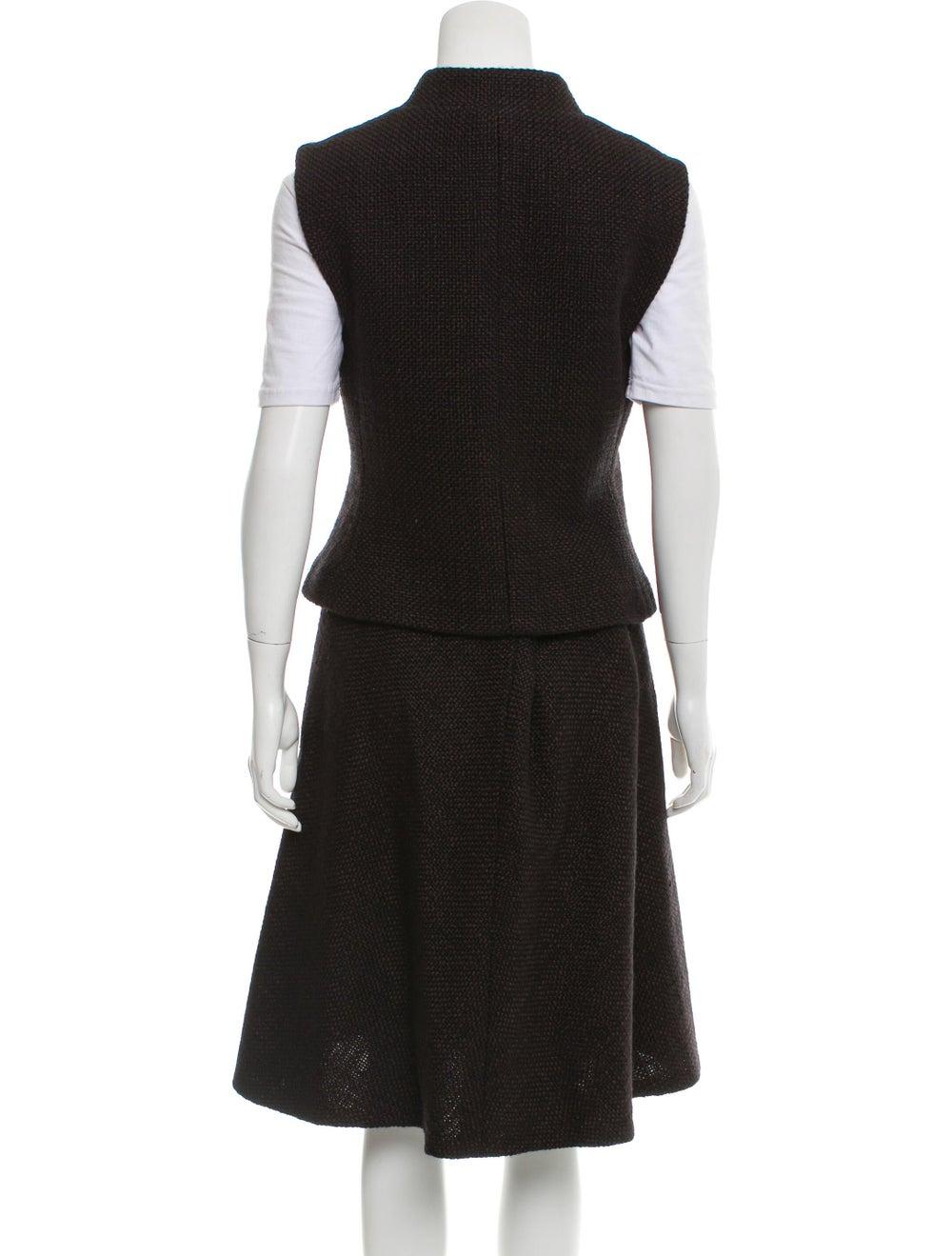 Chanel Wool Tweed Skirt Set wool - image 3