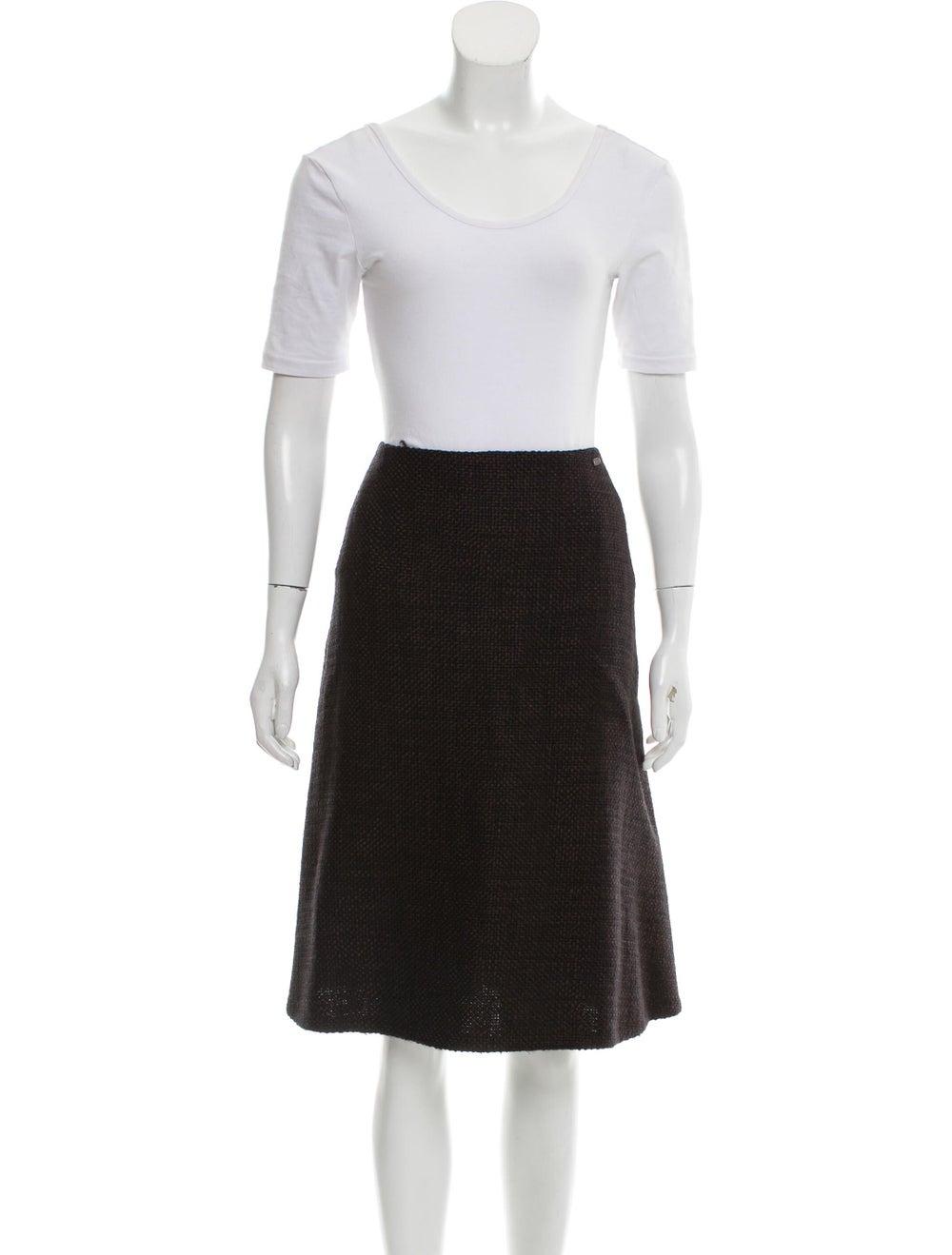 Chanel Wool Tweed Skirt Set wool - image 4
