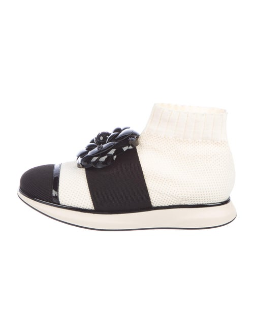 Chanel Sock Sneakers Sneakers White