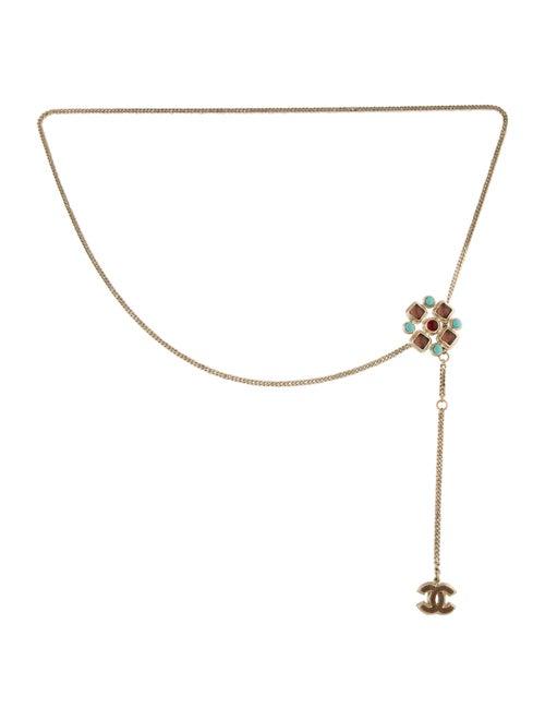 Chanel Gripoix Chain-Link Belt Gold