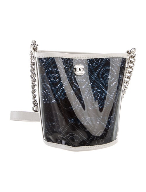Chanel 2018 Coco Bucket Bag Navy