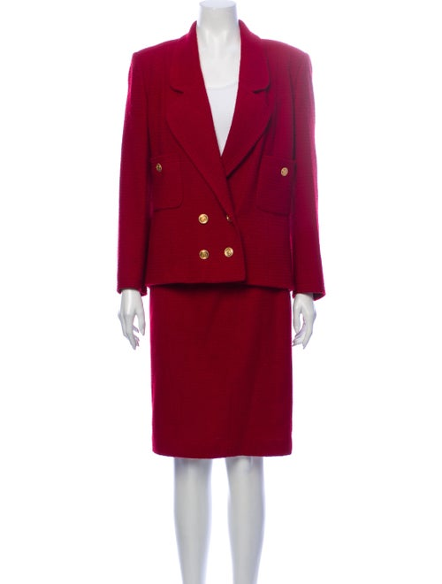 Chanel Vintage 1990's Skirt Suit Wool