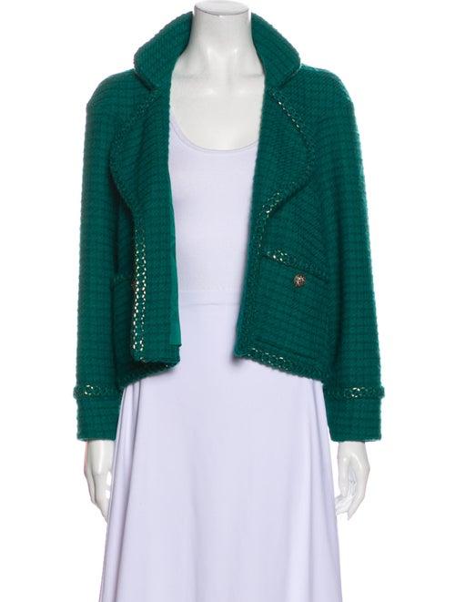 Chanel 2015 Paris-Salzburg Evening Jacket Green
