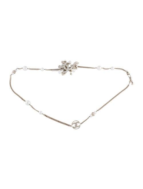 Chanel Pearl CC Belt Gold