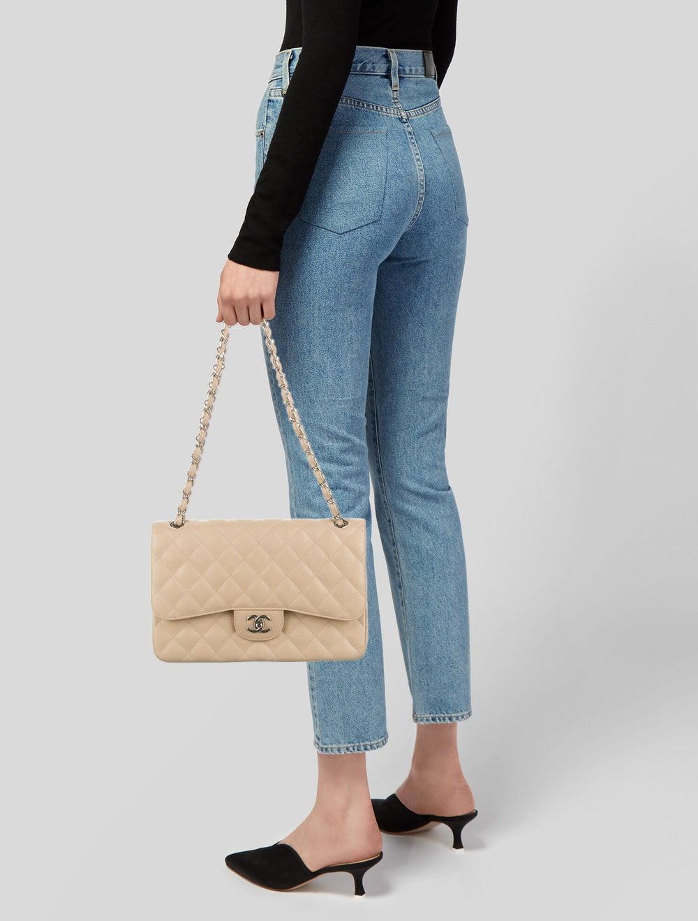 Chanel Classic Jumbo Double Flap Bag Black - image 2