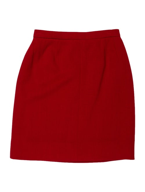 Chanel Vintage Mini Skirt Wool