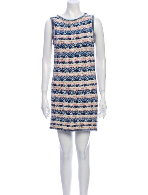 Chanel 2015 Mini Dress Blue