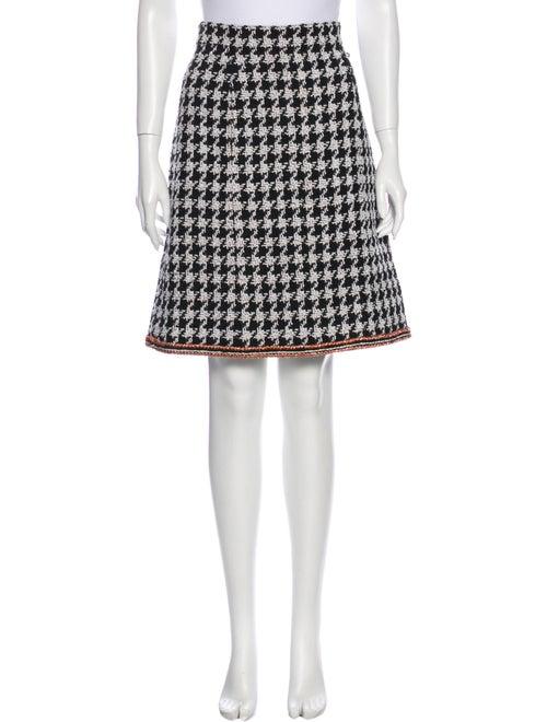 Chanel 2017 Knee-Length Skirt Black