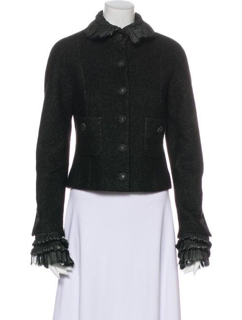 Chanel 2013 Linen Jacket Black - image 1