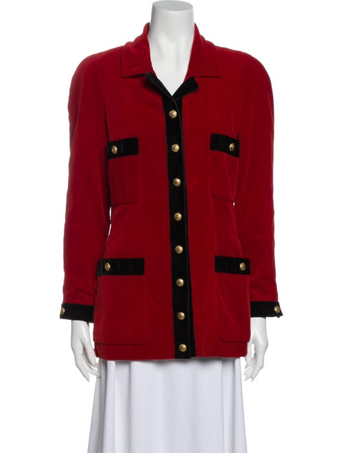 Chanel Vintage Boutique Blazer Red