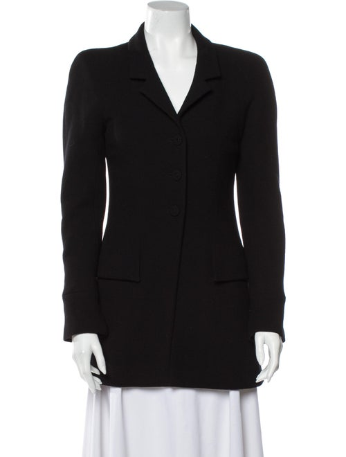 Chanel Vintage 1997 Coat Black