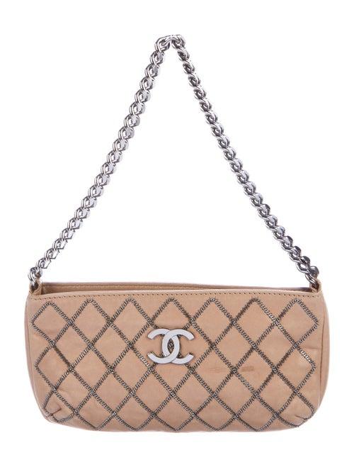 Chanel Chain-Stitch Pochette