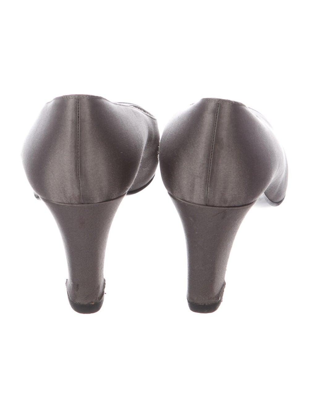Chanel Cap Toe Pumps Pumps Grey - image 4