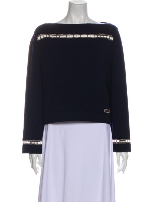Chanel 2020 Cashmere Sweater Blue