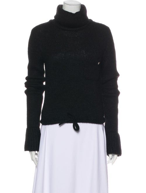 Chanel 2010 Mohair Sweater Black