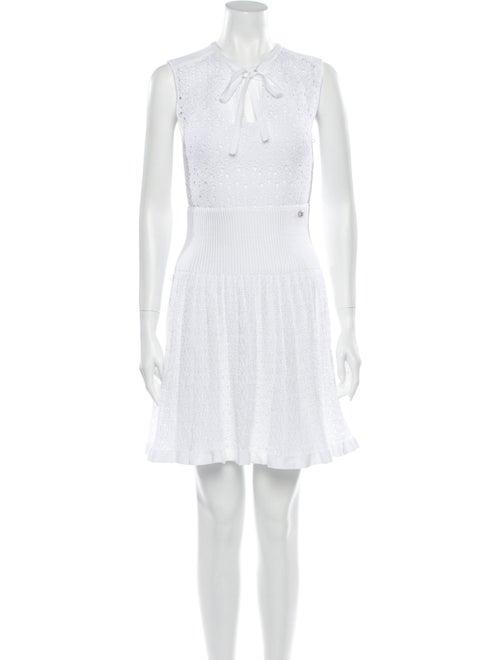 Chanel 2016 Mini Dress White
