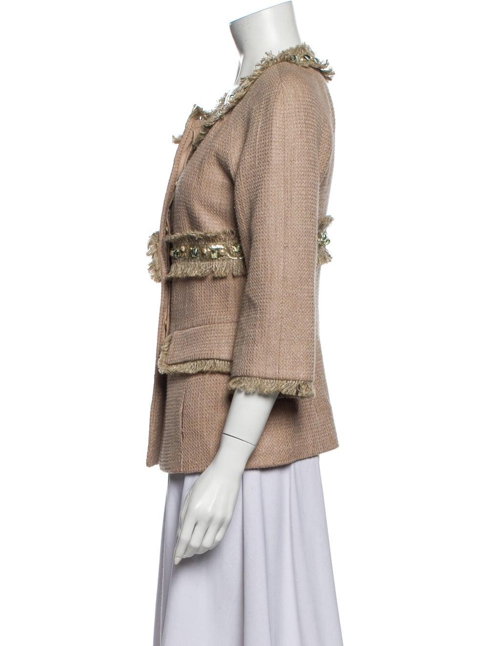 Chanel 2018 Linen Evening Jacket - image 2