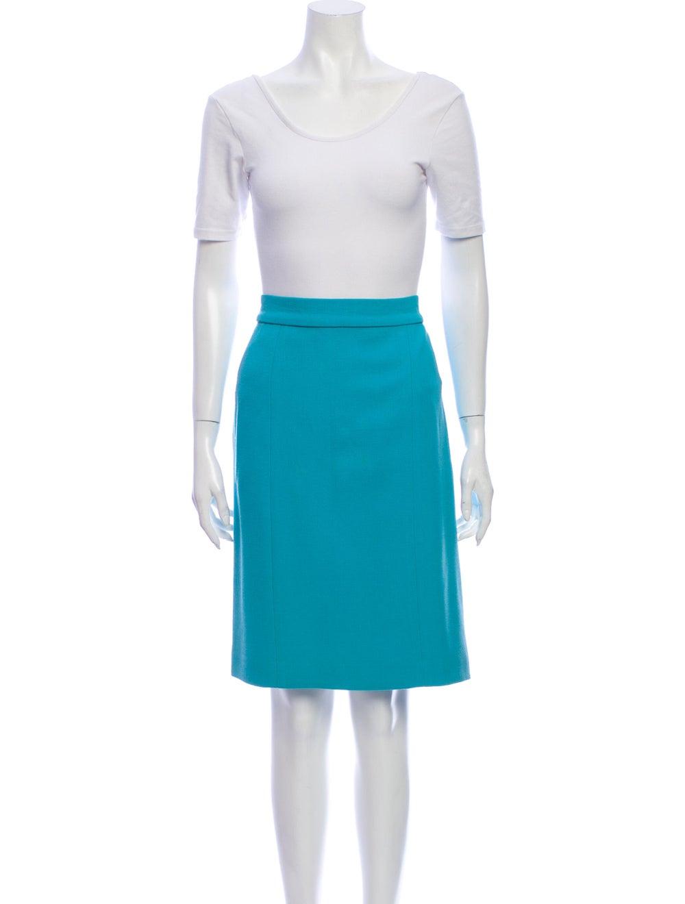Chanel Vintage 1980's Skirt Suit Blue - image 4