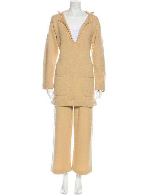 Chanel 2014 Cashmere Pant Set