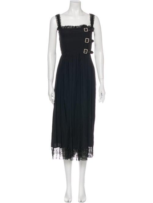 Chanel 2013 Long Dress Black